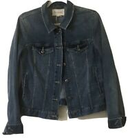 Two By Vince Camuto Denim Jean Jacket Size Large L