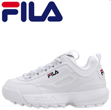 Donna FILA Disruptor Scarpe da ginnastica bianche da uomo Scarpe da ginnastica*