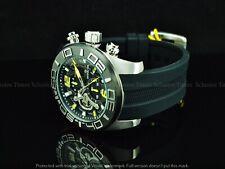Invicta Men's 50mm Big Number Racing Stingray Pro Diver Chrono Black Strap Watch
