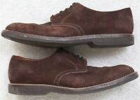 Nordstrom Brown Oxford Men's Dress Shoes 10.5 Ten 1/2 Solid Leather Solanite