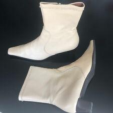Stiefeletten Ankle Booties Schuhe Gr. 40 beige JAIME MASCARO