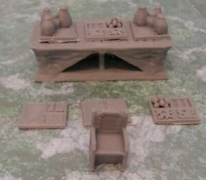 Roleplay Wargame Scenery D&D Heroquest  Warhammer - Market Stall - Small