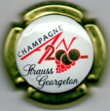 Capsules de champagne STRAUSS GEORGETON JEROBOAM AN 2020