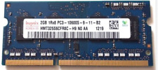 Hynix 2GB PC3-10600 DDR3-1333MHz non-ECC Unbuffered CL9 204-Pin SoDimm HMT325S6C