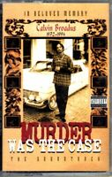 Murder Was The Case Various 1994 Cassette Tape Movie Soundtrack OST Album
