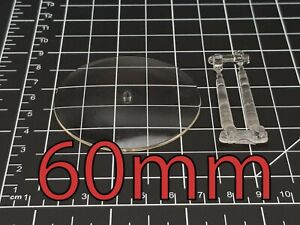 60mm Round Flying Warhammer Bases with Stems Wargaming Wargames AOS Plastic