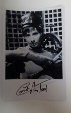 "DOCTOR WHO - Female Actor Carol Ann Ford 6""X4"" Autograph Reprint Photo B/W Pic"