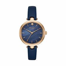KATE SPADE New York Damen Armband Uhr Damenarmbanduhr Damenuhr blau und gold