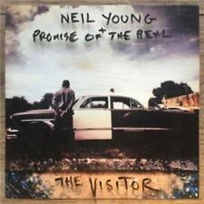 NEIL YOUNG + PROMISE OF THE REAL The Visitor CD BRAND NEW Gatefold Sleeve