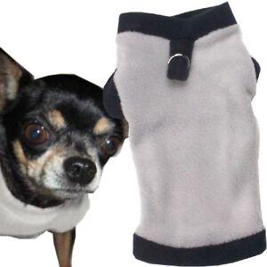 S Hundepullover Grau-Black Welpen Bekleidung Pullover MADE IN GERMANY