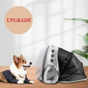 Cat Capsule Backpack Bag Transparent Space Astronaut Travel Portable Retractable