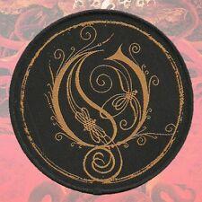 "OPETH - Patch Aufnäher ""O""-logo rund 9x9cm"