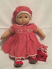American Girl Bitty Baby Doll Pleasant Co Red Valentine Dress Outfit Retired