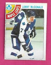 1978-79 OPC # 78 LEAFS LANNY MCDONALD NRMT CARD (INV# C3357)