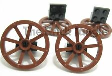 LEGO parts: Wagon wheels suit city castle train sets