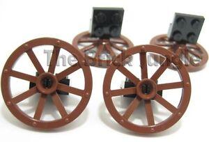 LEGO parts: Wagon wheels suit city castle train sets
