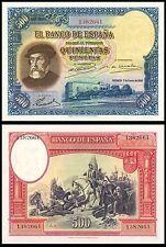 Facsimil Billete 500 pesetas de 1935 - Reproductions