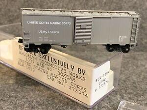 N Scale Brooklyn Locomotive Works United States Marine Corps 40' Boxcar BLW-1099