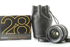 【MINT in BOX】 CONTAX Carl Zeiss Distagon T* 28mm F/2.8 AEJ MF Lens From Japan