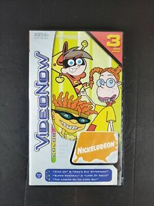 Video Now Color Nickelodeon 3 Disc Pack Rocket Power, Fairly Oddparents, Wild