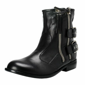 Giuseppe Zanotti Homme Leather Ankle Boots Shoes Sz 7.5 8 9 10 10.5 11.5 13