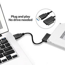 USB 3.0 to 7+6 13Pin Slimline SATA Cable for Laptop DVD/CD-ROM HDD Drive Adapter