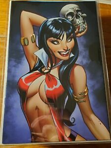 Vampirella #2 1:25 Campbell Virgin Sneak Peek Variant NM-