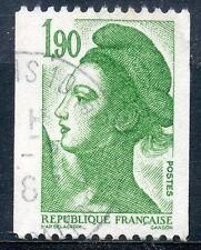 STAMP / TIMBRE FRANCE OBLITERE N° 2426  TYPE LIBERTE DE DELACROIX / ROULETTE
