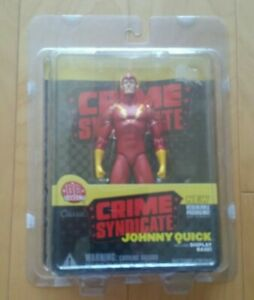"""2002 DC Direct Crime Syndicate """"Johnny Quick"""" Figure Ships Free 24 hrs"""