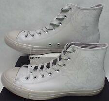 New Mens 13 Converse CTAS Hi Laser Tech Pure Silver Mouse Grey Shoes $75 155183C