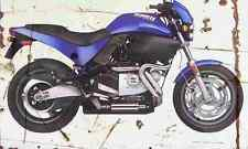 Buell M2 1999 Aged Vintage SIGN A4 Retro