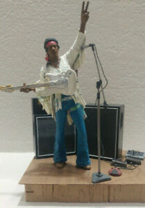 McFarlane Toys Jimmy Hendrix Aug 18, 1969 8:04am action figure