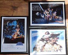 Trilogía de Star Wars Enmarcado A4 pictues (Set)