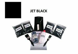 Black Flocking Kit Bulk Over 4 SQM Coverage Full Kit 3 To 4 Dashboards