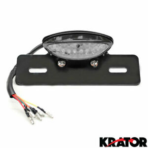 LED Turn Signals License Plate Light & Bracket for Trailer RV Cargo Van Camper
