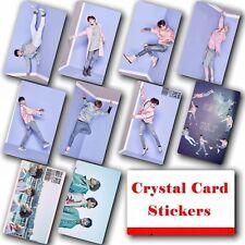 10pcs/set Kpop GOT7 Collective HD Lustre Photo Card Crystal Card Sticker