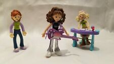 Groovy Girls Mini Music Playset 3 Dolls Great Condition