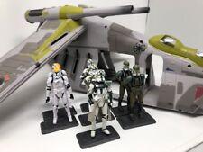 Star Wars Republic Gunship and Clone Trooper Lot