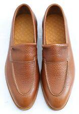 New & Boxed John Lobb 'Aley' Apron Loafer Tan Brown Leather Shoes 7 UK 41 EU