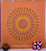 Magical Thinking Medallion Indian Mandala Tapestry Queen Wall hanging Boho Throw