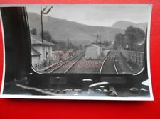 PHOTO  CRIANLARICH RAILWAY STATION LOOKING SOUTH 20/7/66 VIEW FROM CAB