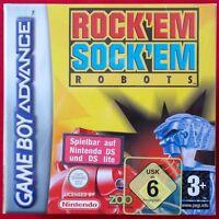 Nintendo Gameboy Advance - GBA ► Rock'em Sock'em Robots ◄ NEU & OVP