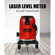 5 Lines 360° Rotary Vertical & Horizontal Line Laser Level Tools Self Leveling