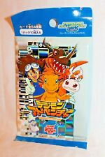 NEW IN PACKAGE 1999 JAPAN DIGIMON TRAIDING CARDS SERIES EDITION