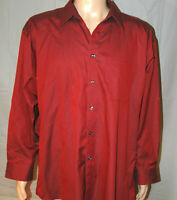 Joseph & Feiss Men's 17-32/33 Non-Iron Long-Sleeve Button-Front Dress Shirt