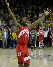 Kawhi Leonard Toronto Raptors NBA Championship Unsigned 8X10 Photo (B)