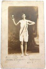 .AMERICANA. 1913 KENTUCKY STATE CHAMPION COLLEGIATE TRACK MEET REAL PHOTO P/CARD
