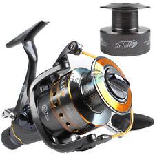 DrFish Spinning Reel Baitfeeder Saltwater Fishing 2 Spool 4000 11BB Catfish Reel