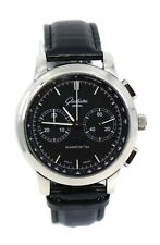 Glashutte Sixties Chronograph Stainless Steel Watch 39-34-02-22-04