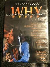 Clinton Anderson Why Does My Horse Do That? New 2 Discs Produced by Rick Lamb